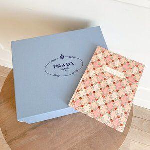 Prada Box + Small Gucci Catalog Book